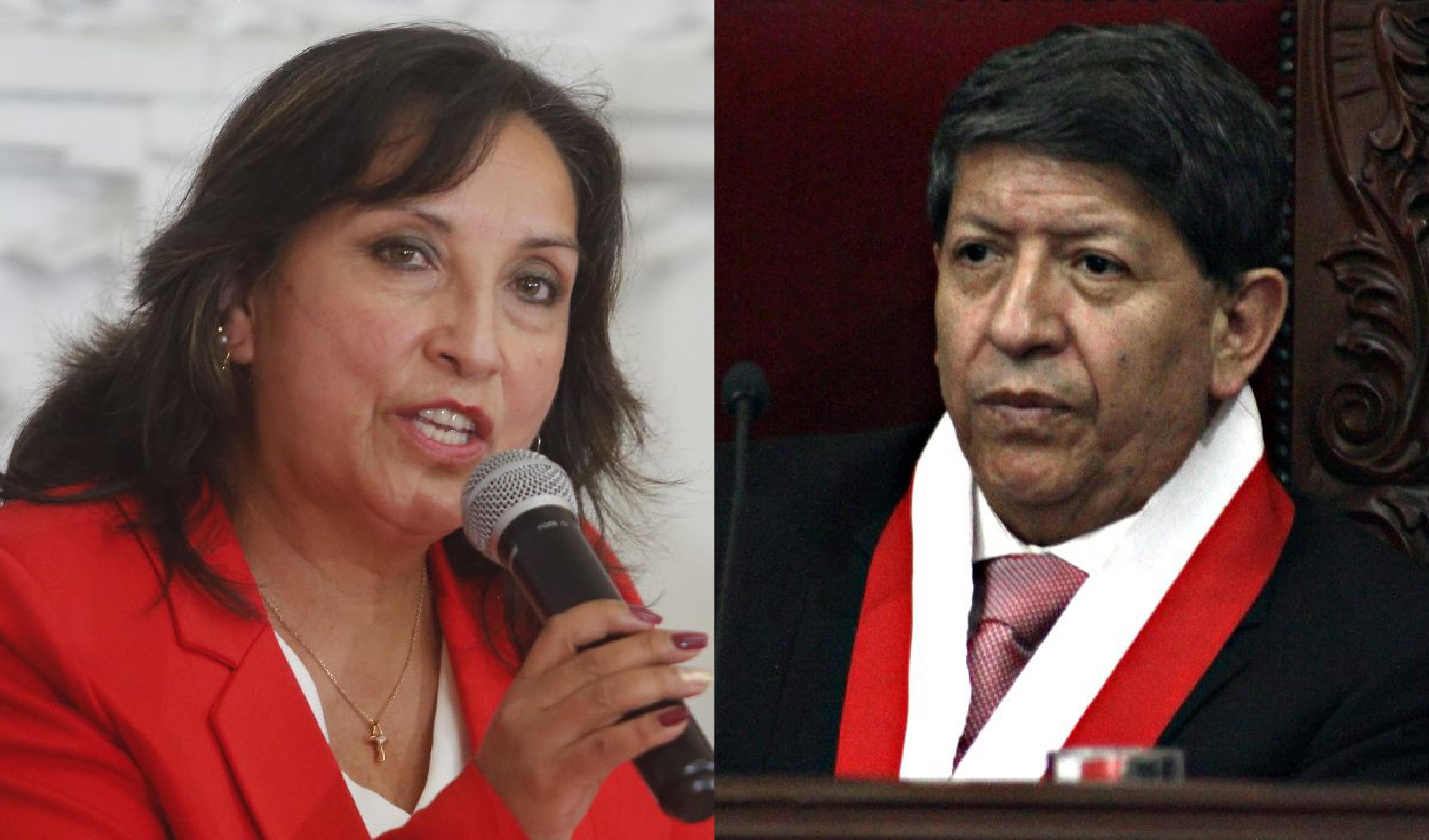Boluarte lamenta deceso del magistrado Carlos Ramos
