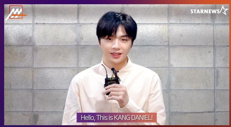 Kang Daniel en los AAA 2020. Foto: captura U-NEXT