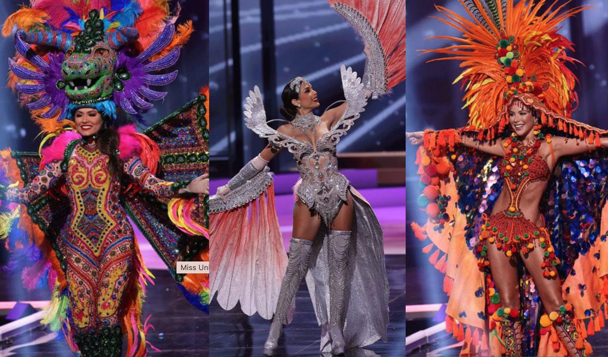 Miss Universo 2021: las participantes sorprenden con trajes típicos