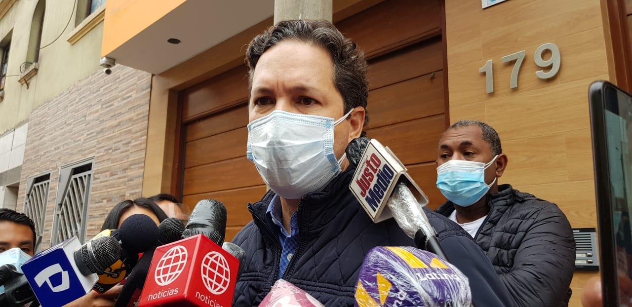 Daniel Salaverry se autoproclama vocero de Pedro Castillo