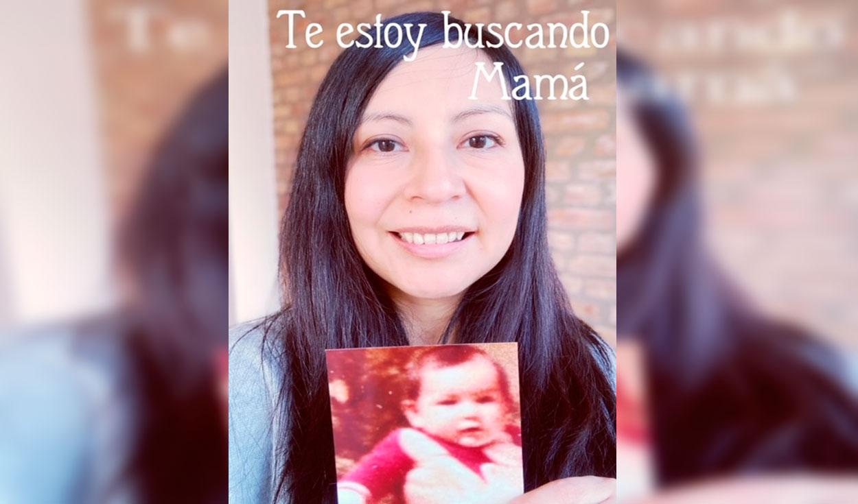 Rossella fue adoptada hace 44 años y busca a sus padres biológicos