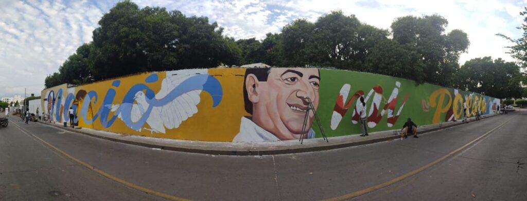 Mural de Jorge Oñate