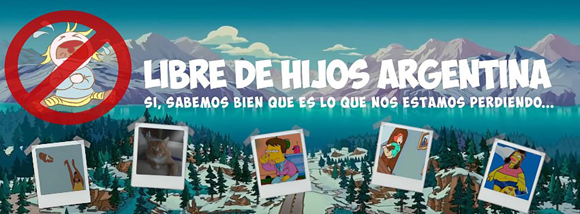 """""""Libre de hijos Argentina"""" es el grupo al que se sumó Belén"""