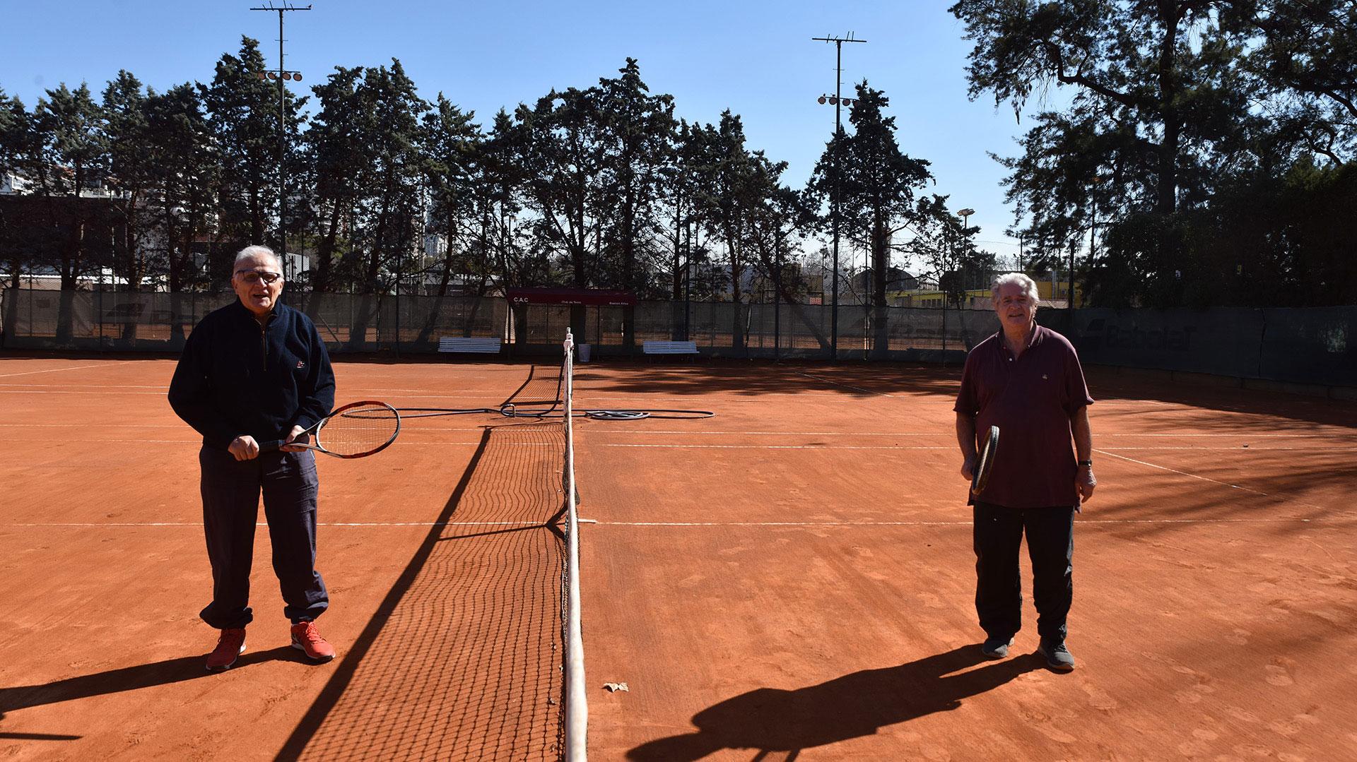 Las canchas porteñas de tenis volvieron a abrir sus puertas luego de cinco meses