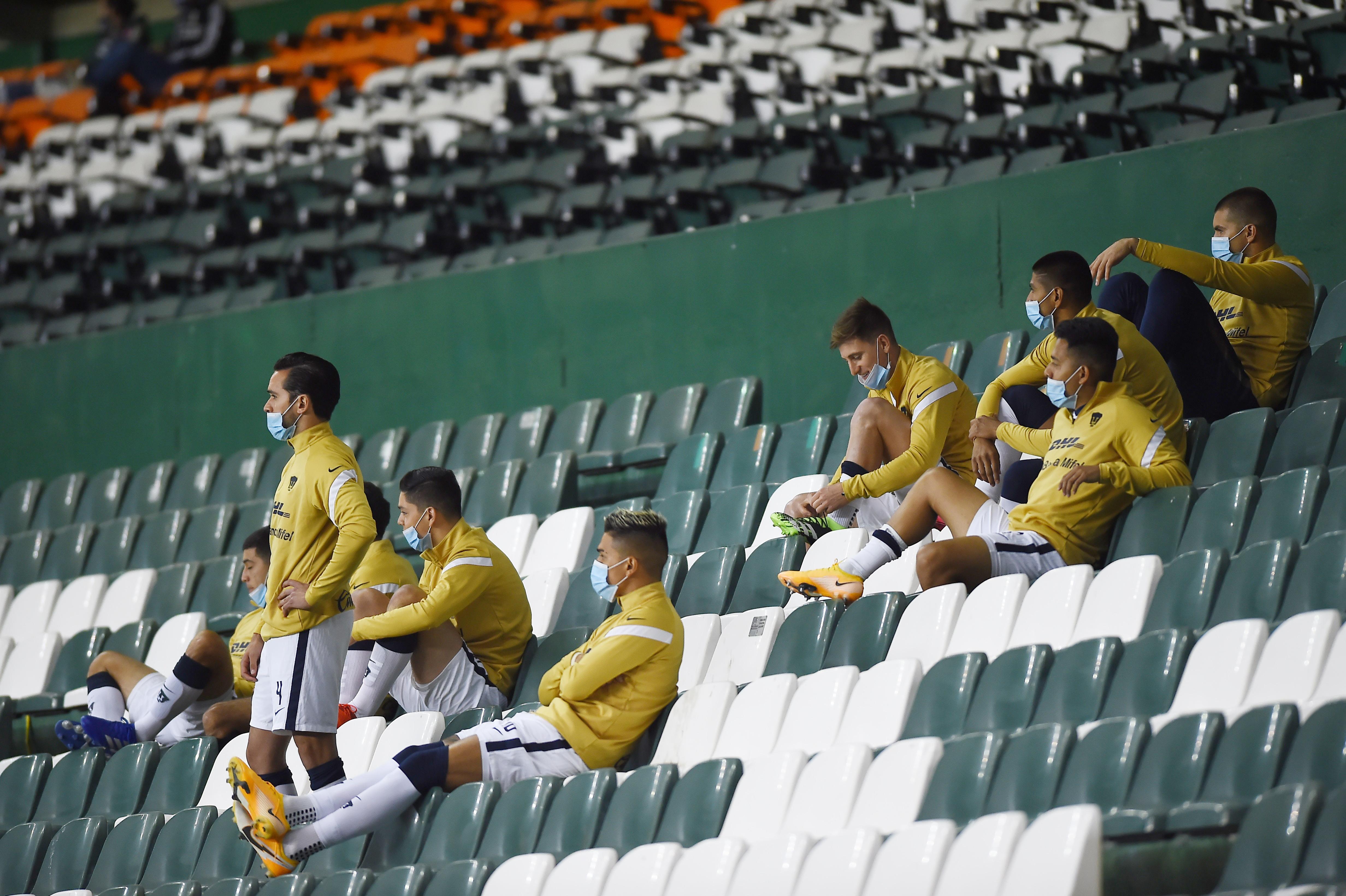 Estadio León, México. El 13 de diciembre de 2020.