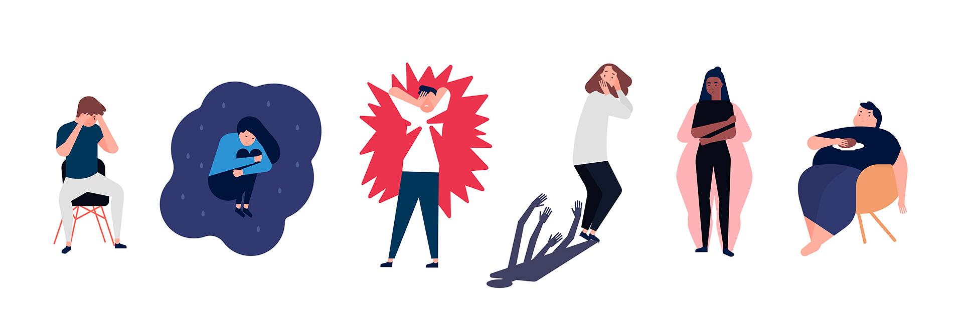 La pospandemia dejará sobre la superficie una serie de síntomas y trastornos ligados a resquebrajar la salud mental de las personas. Las sociedades empáticas, solidarias y pacíficas lo podrán superar mejor.  (Shutterstock)