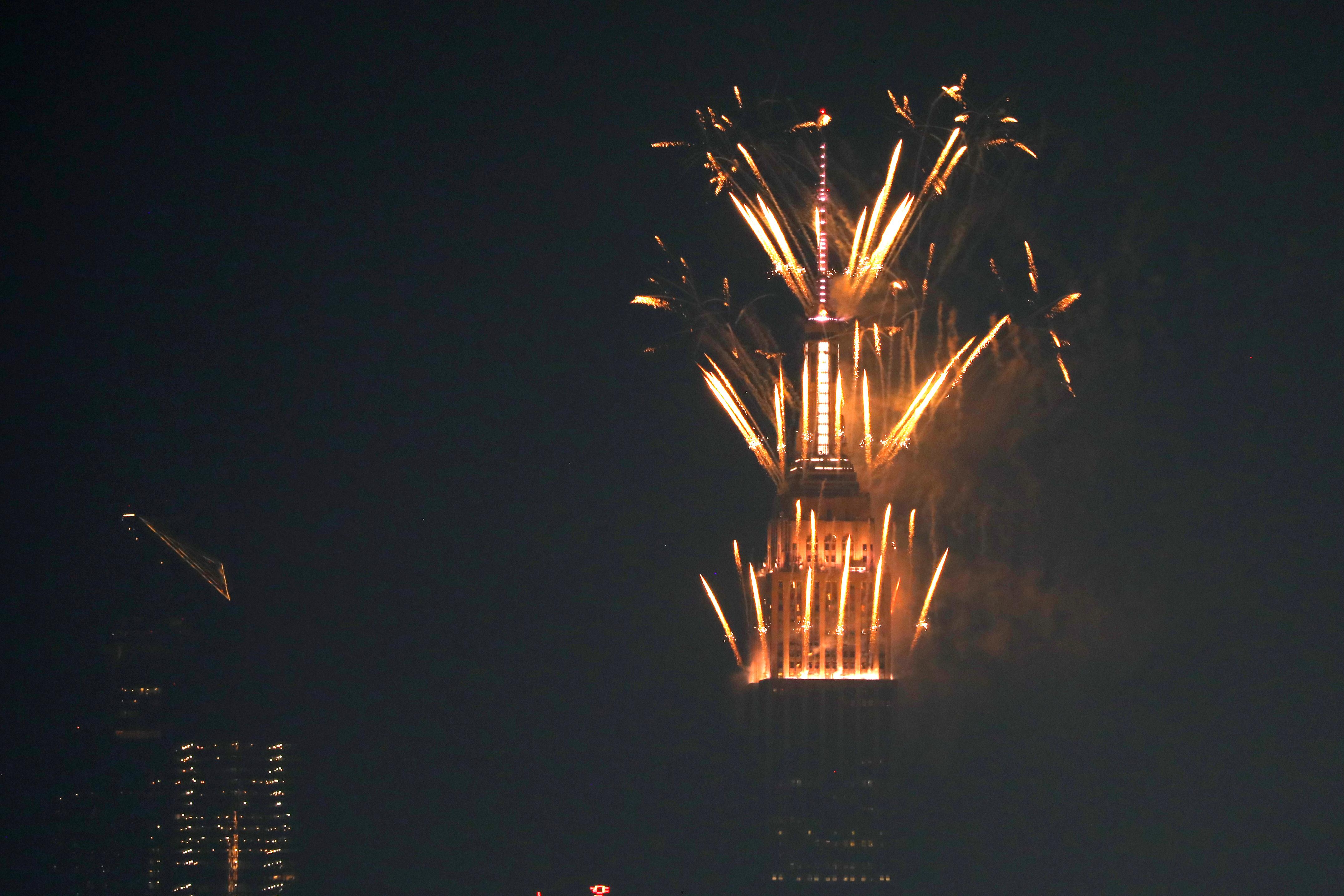 Celebración del Día de la Independencia desde Nueva York