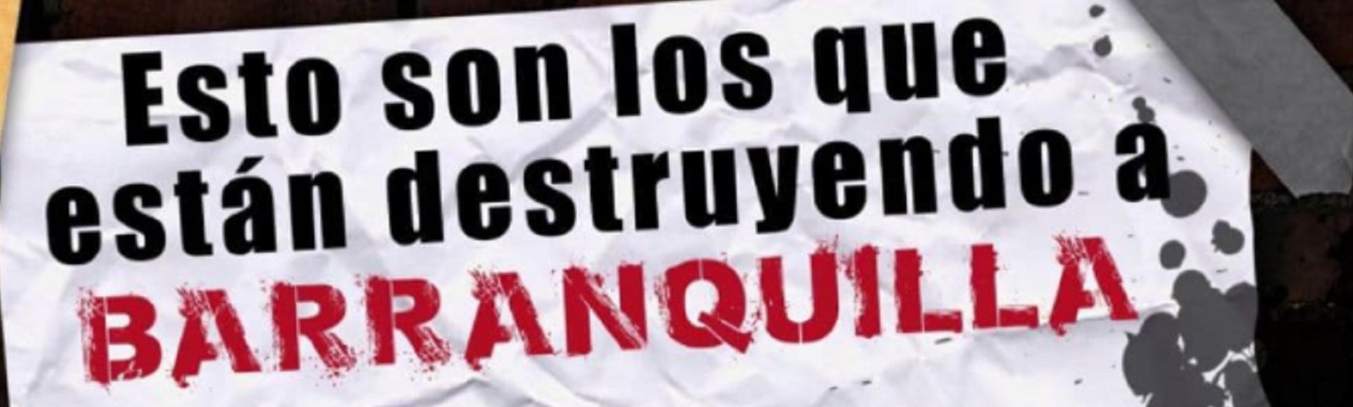 El cartel invita a vandalizar la vivienda de 26 ciudadanos y ong's que han manifestado su apoyo y han sido críticos frente al Gobierno nacional y local.
