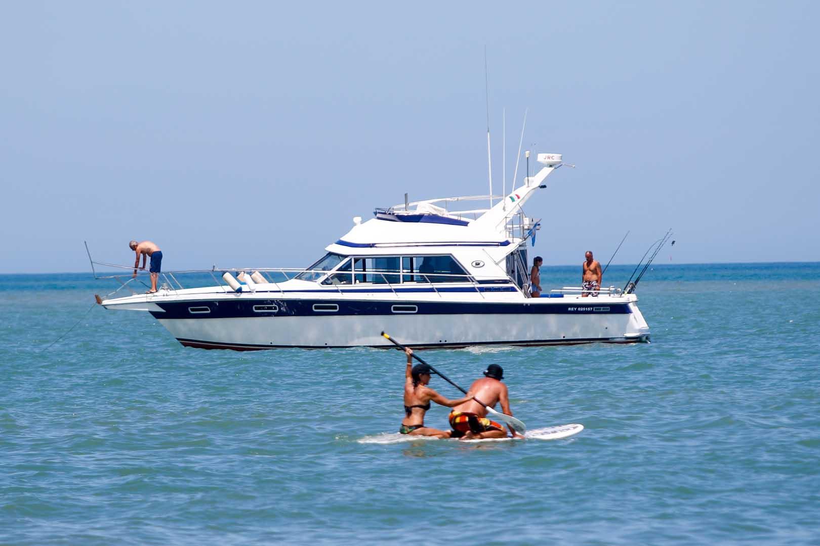 Mar del Plata vivió un fin de semana a pleno sol: el Servicio Meteorológico Nacional informó que las altas temperaturas se mantendrán durante el lunes y martes