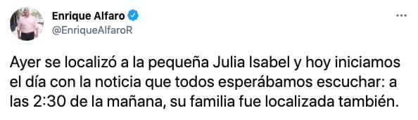 (Foto: Twitter/@EnriqueAlfaroR)