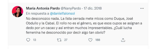 Nany Pardo / Twitter