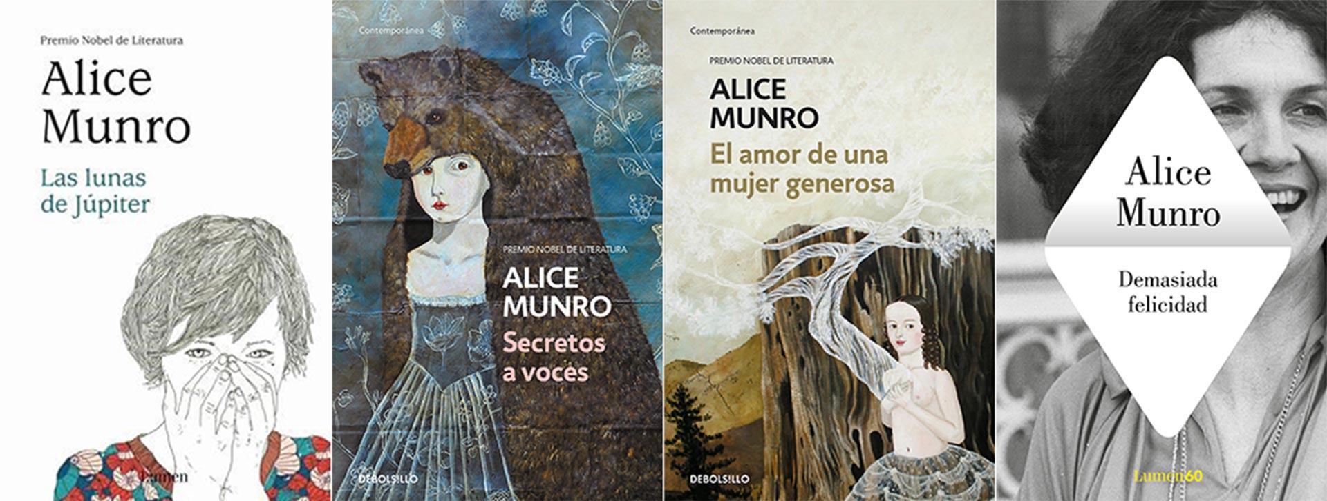 Otros títulos de Munro en español