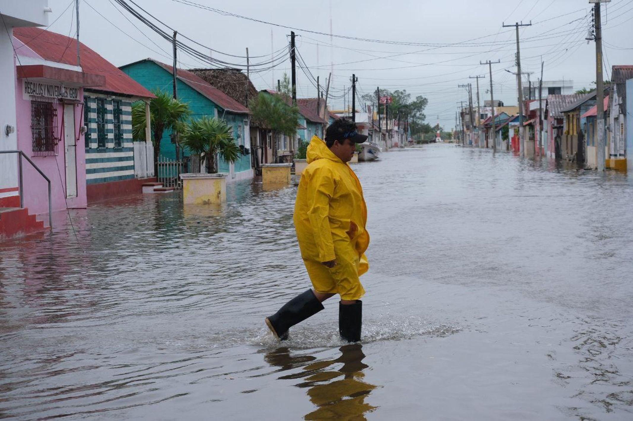 El estado mexicano de Quintana Roo sin víctimas ni heridos por huracán Delta