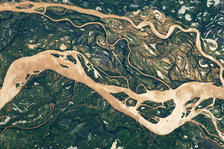 Llanura de inundación del río Paraná, norte de Argentina
