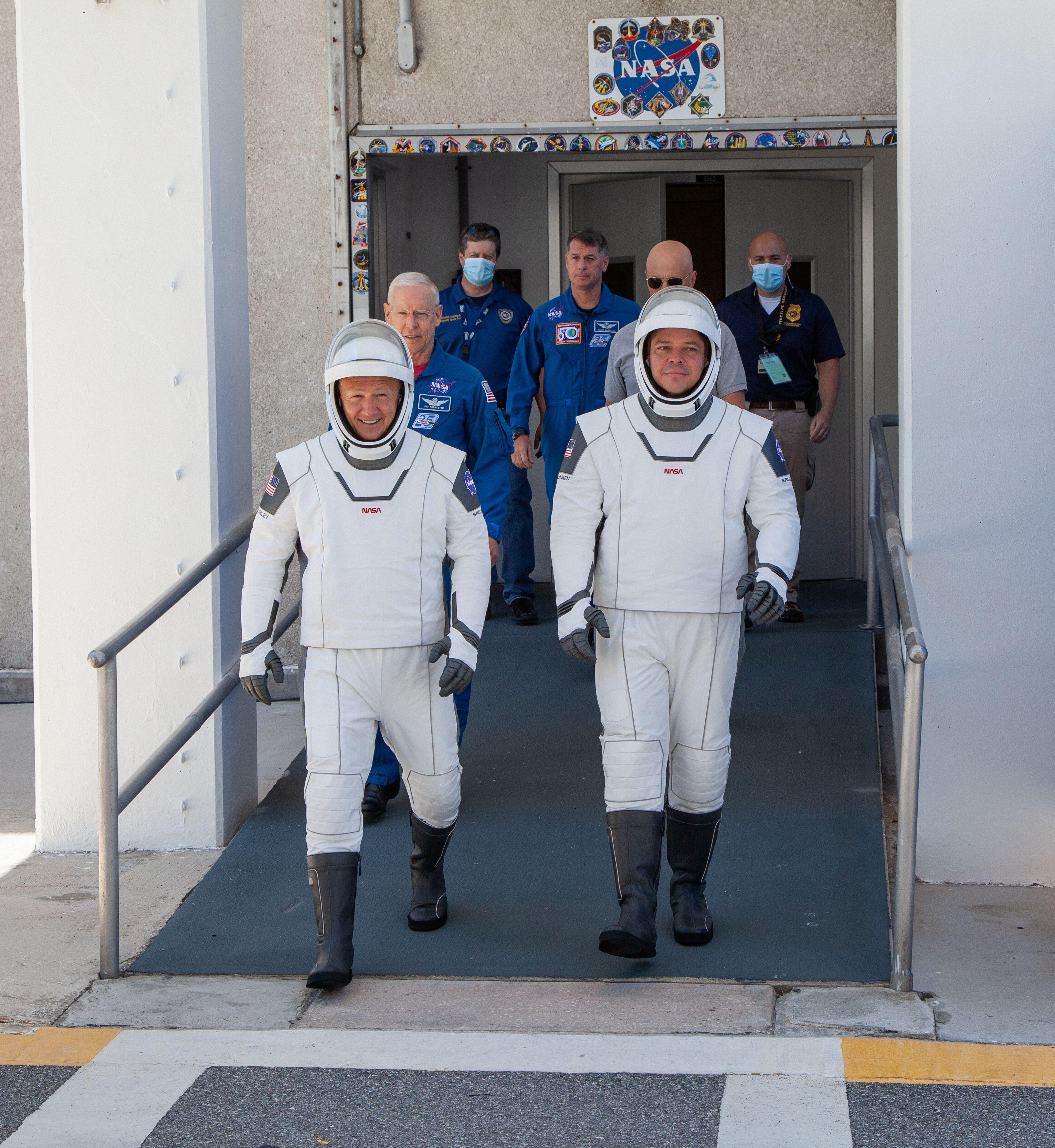 (NASA/Brandon Garner via REUTERS)