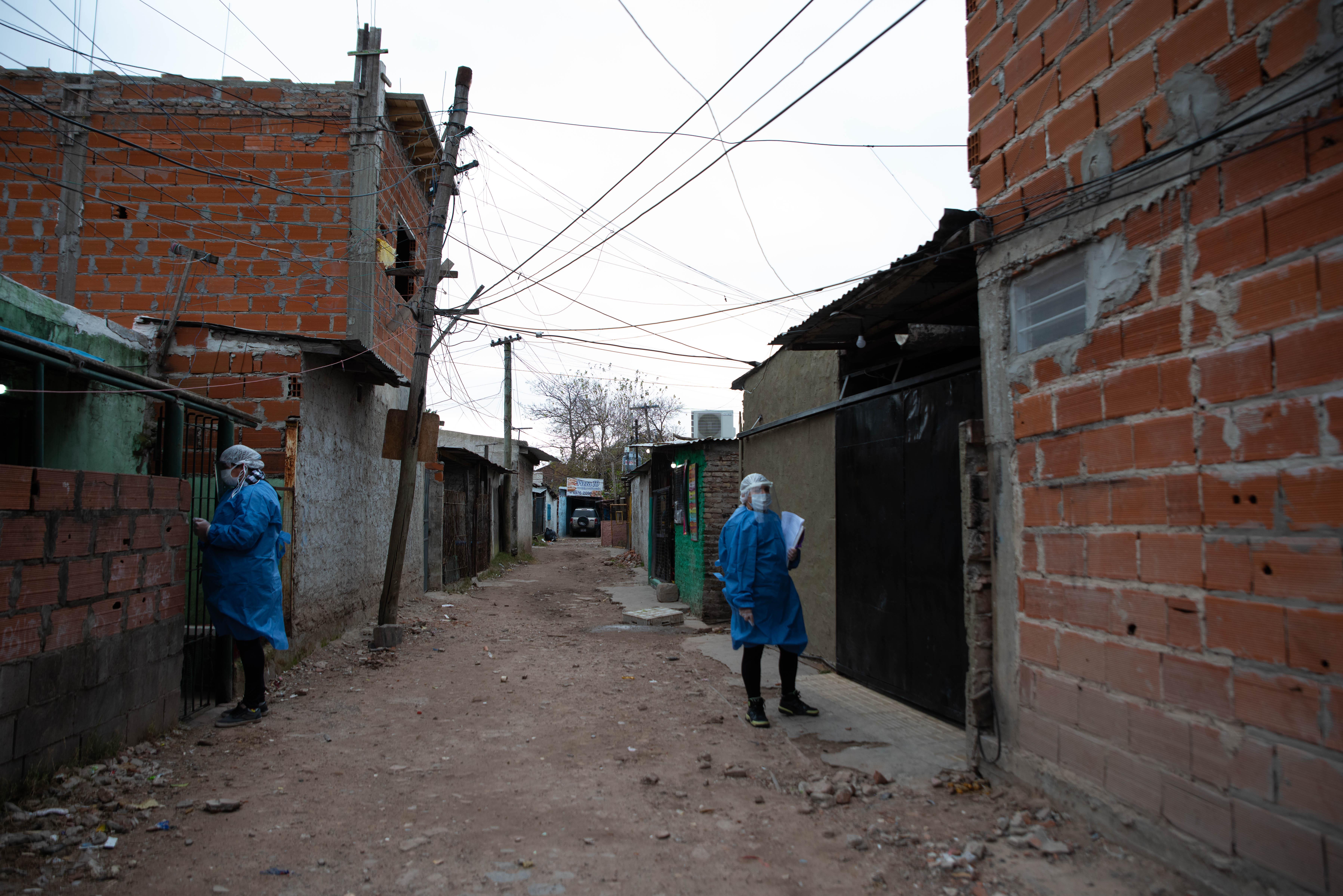 El barrio se formó en los años 60 con el asentamiento de cirujas alrededor de un basural