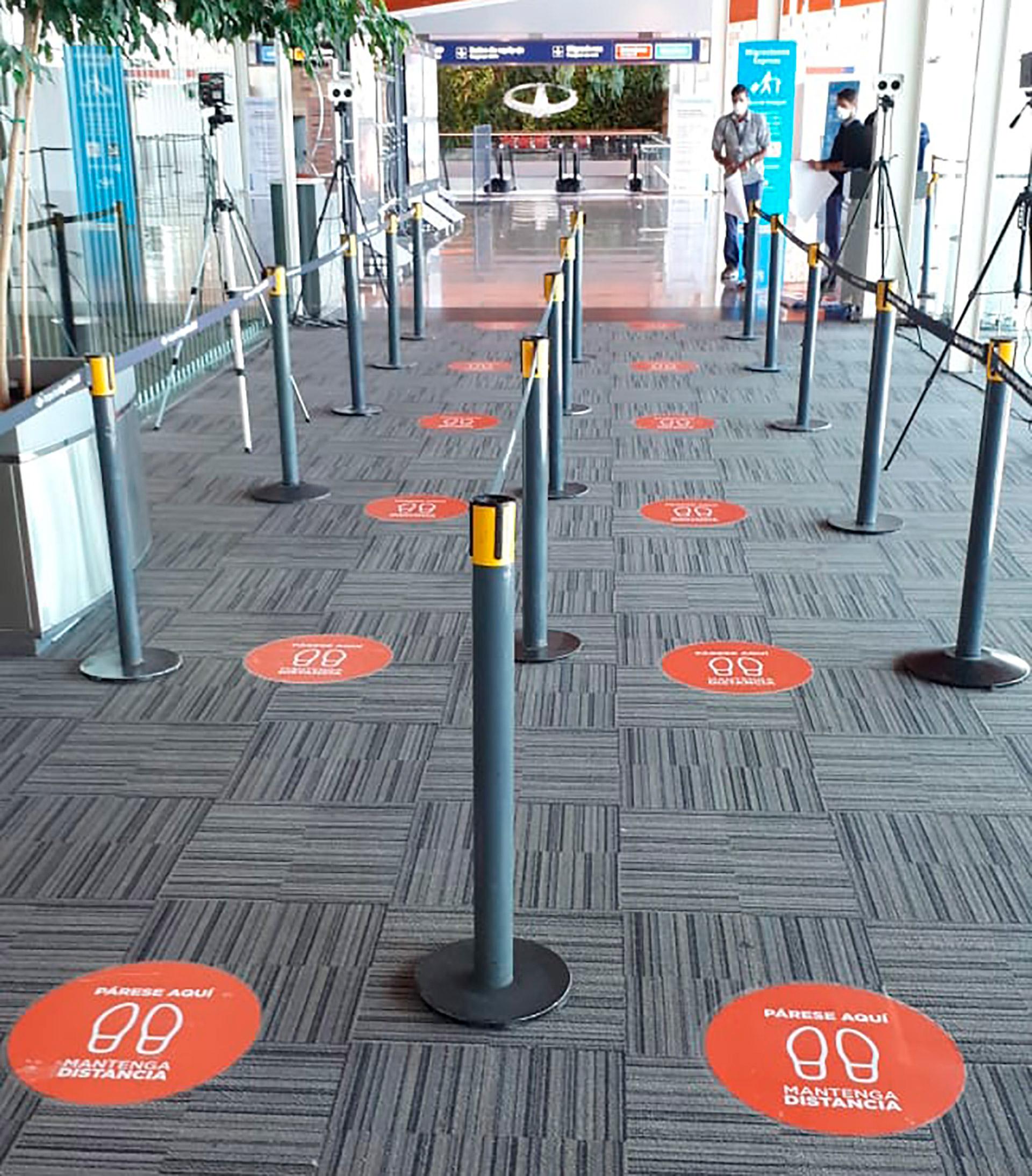 El objetivo del protocolo es disminuir la circulación de pasajeros dentro de la terminal