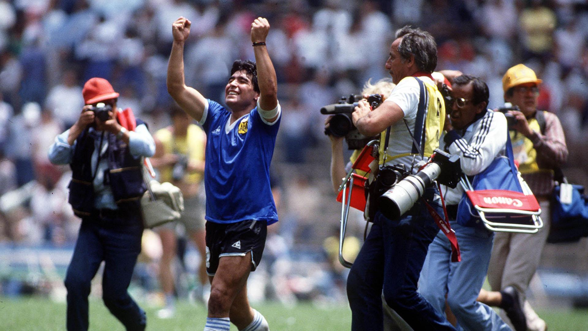 Diego Maradona A 34 Anos De Sus Miticos Goles A Inglaterra Mas No Le Puedo Pedir A La Vida Infobae