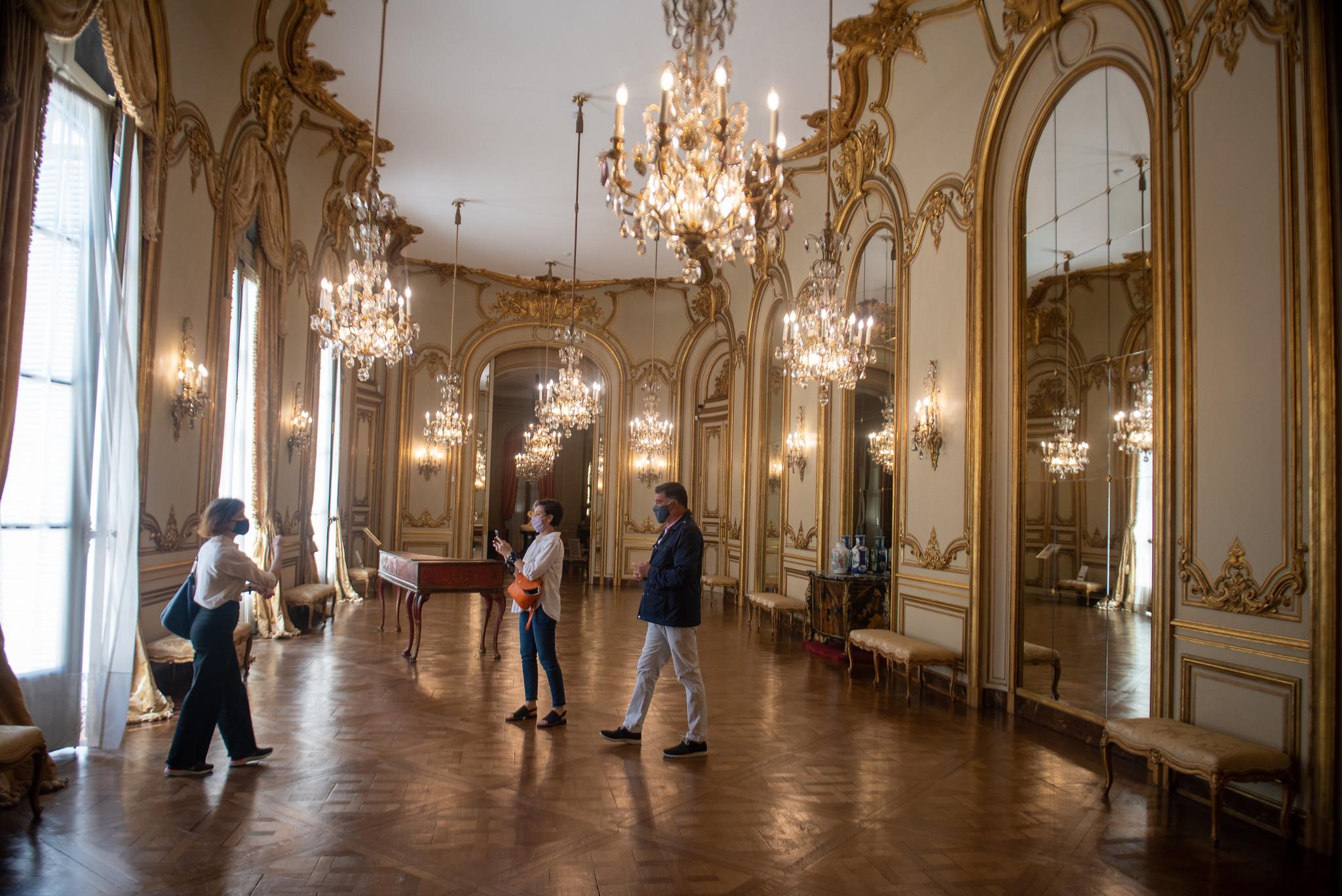 El Museo de Arte Decorativo tiene la mayoría de sus salones abiertos al público, aunque hay algunos aforos que todavía permanecen cerrados (Ministerio de Cultura)
