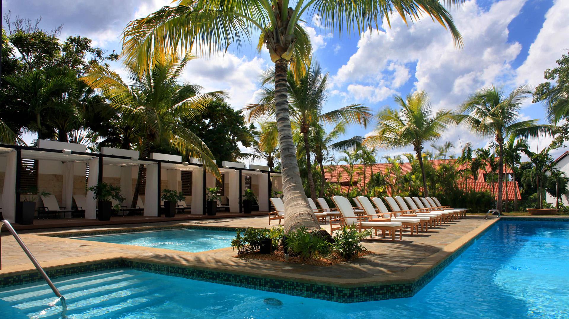 """""""Casa de Campo"""", situado en La Romana, a 100 kilómetros de Santo Domingo, es un paradisíaco complejo de más de 20 kilómetros cuadrados y numerosas villas de lujo"""