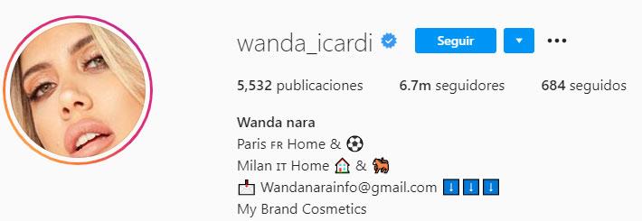 Wanda Nara (Foto: instagram)