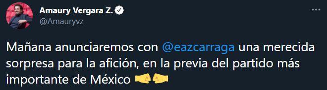 El dueño de las Chivas respondió (Foto: Twitter@Amauryvz)
