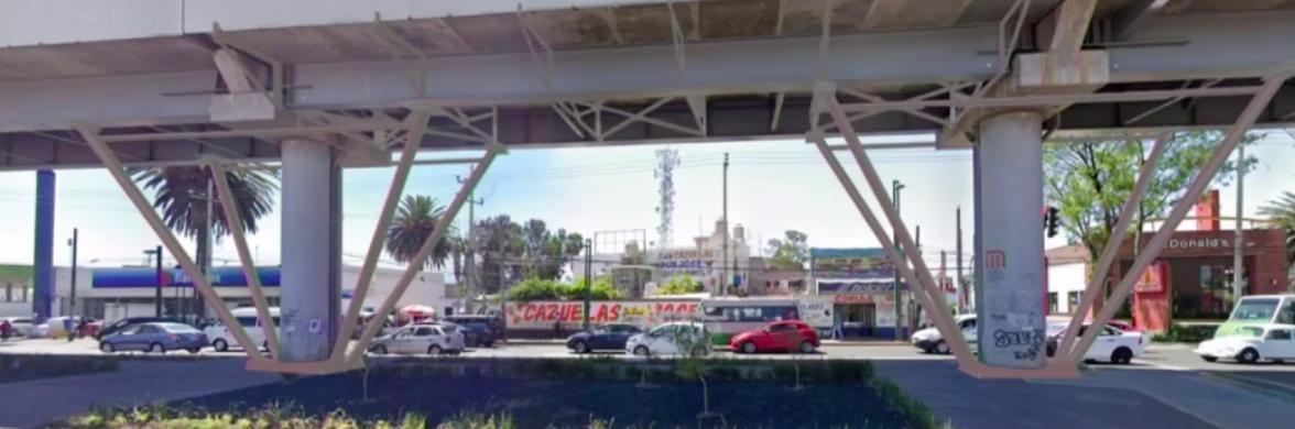 Boceto de cómo se rehabilitará el tramo colapsado de la Línea 12 con bases metálicas, puntales y diafragmas. (Foto: Secretaría de Obras y Servicios)