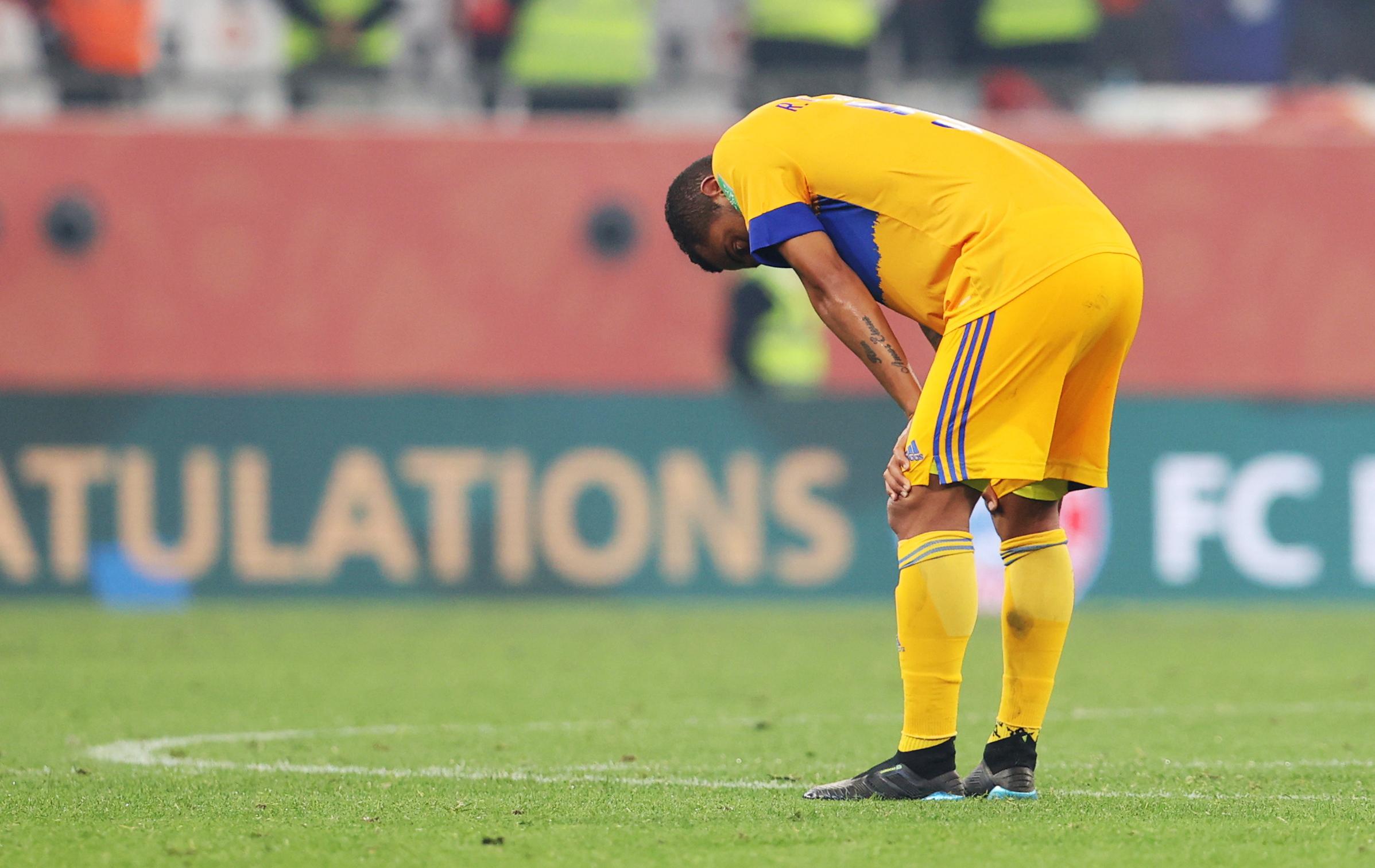 Rafael Carioca después del juego.