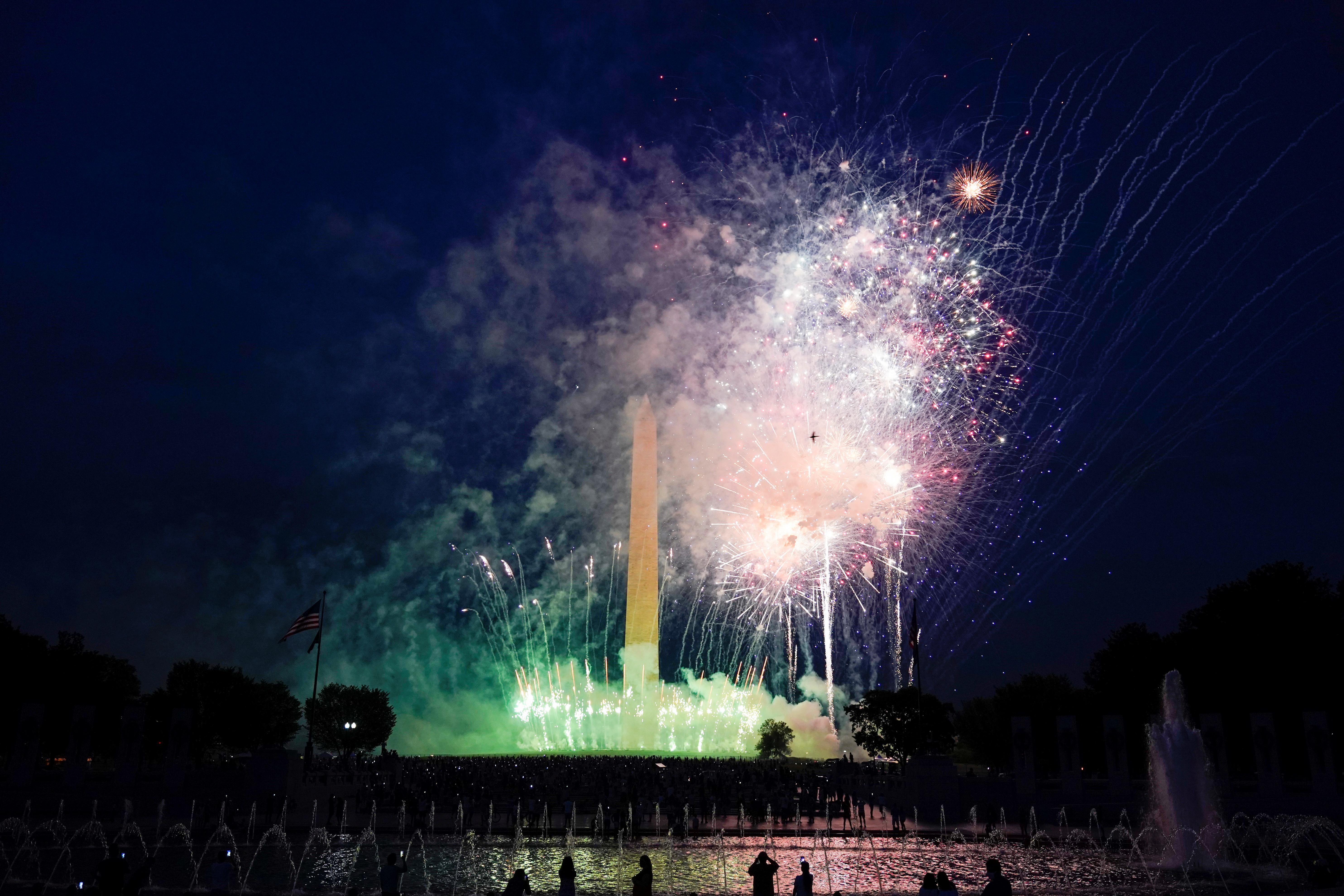 La celebración del 4 de julio en Washington