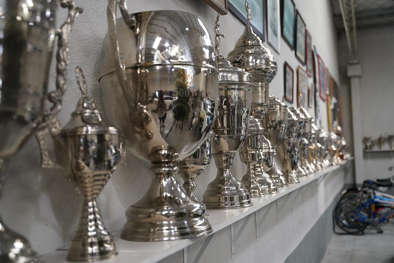 Los trofeos que ganó Cupeiro a lo largo de su carrera entre 1960 y 1973. Logró 41 victorias en distintas categorías y fue subcampeón de TC en 1965.