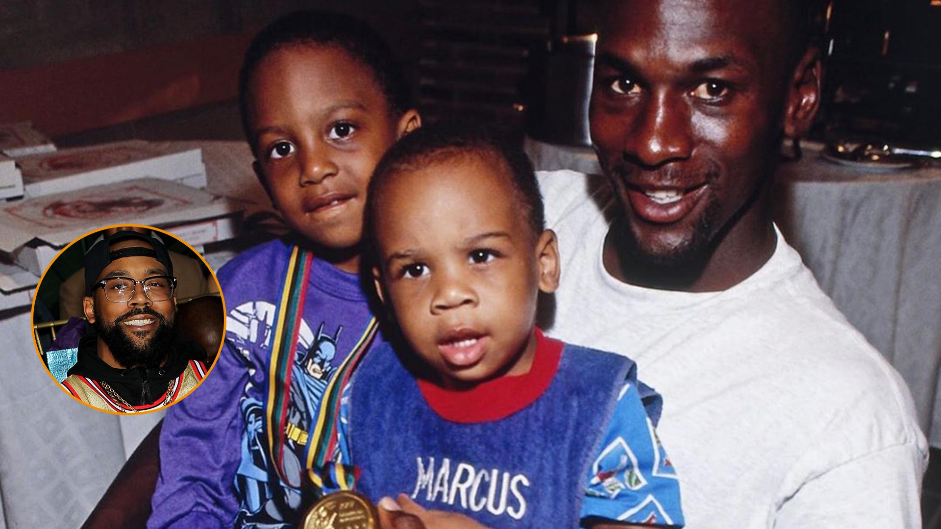 Gimnasia Adentro Endulzar  Las revelaciones de Marcus, el hijo de Michael Jordan: las presiones que  sufrió, el costado negativo del éxito de su padre y los beneficios que  disfrutó - Infobae