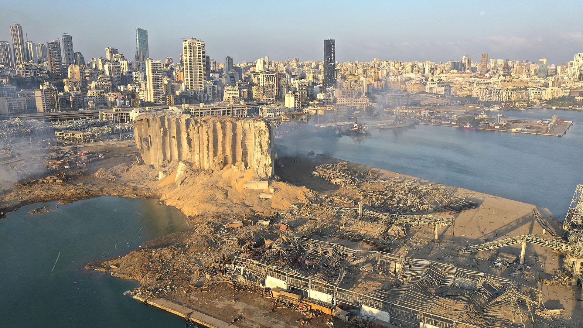 Hiroshima en Beirut: el poder devastador de la explosión en el ...