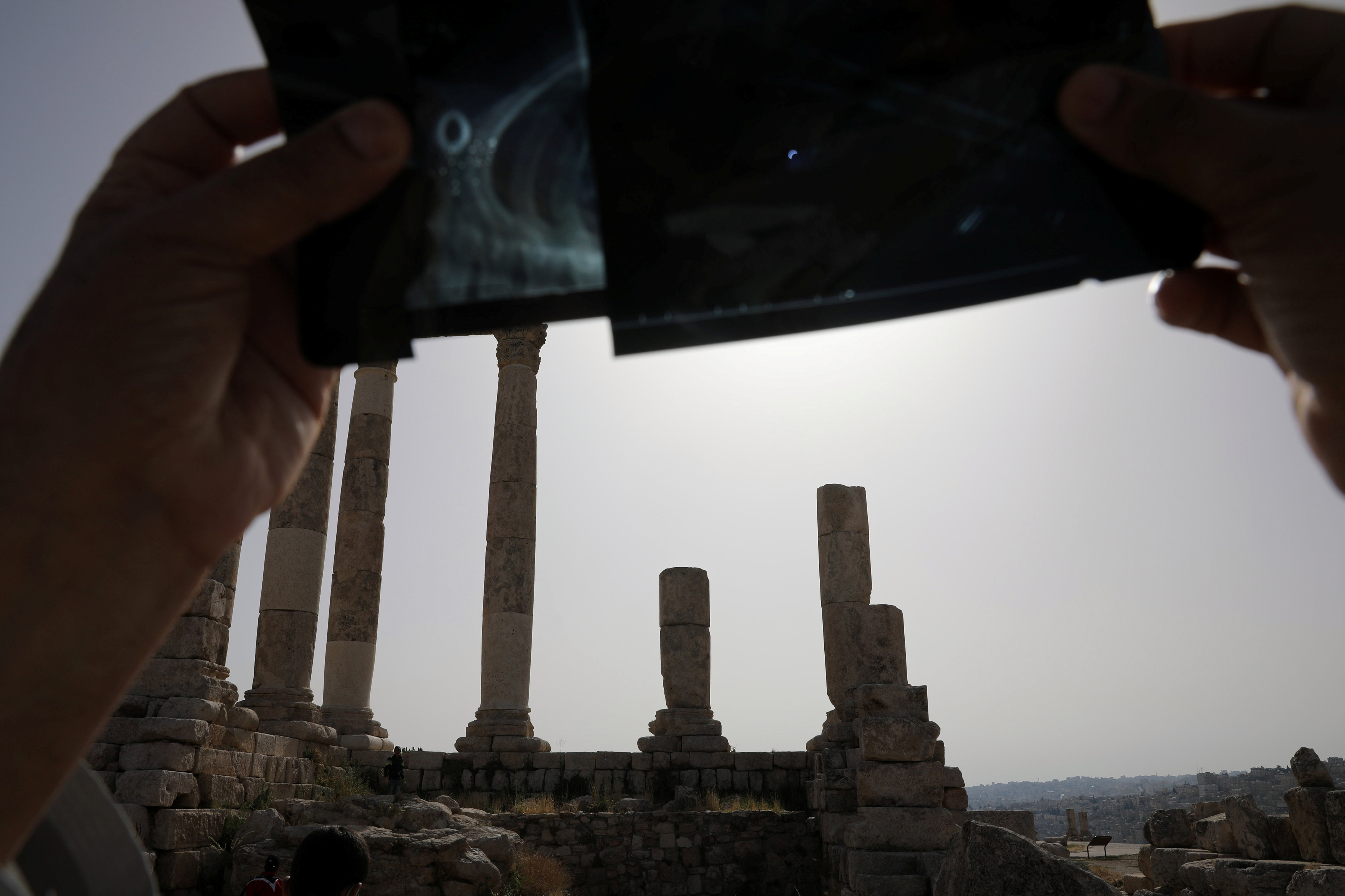 Las radiografías también son usadas para proteger la vista, en Jordania