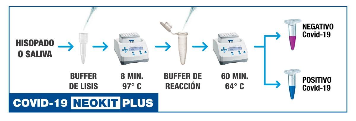 Funcionamiento del nuevo NEOKIT PLUS, desarrollado por científicos argentinos
