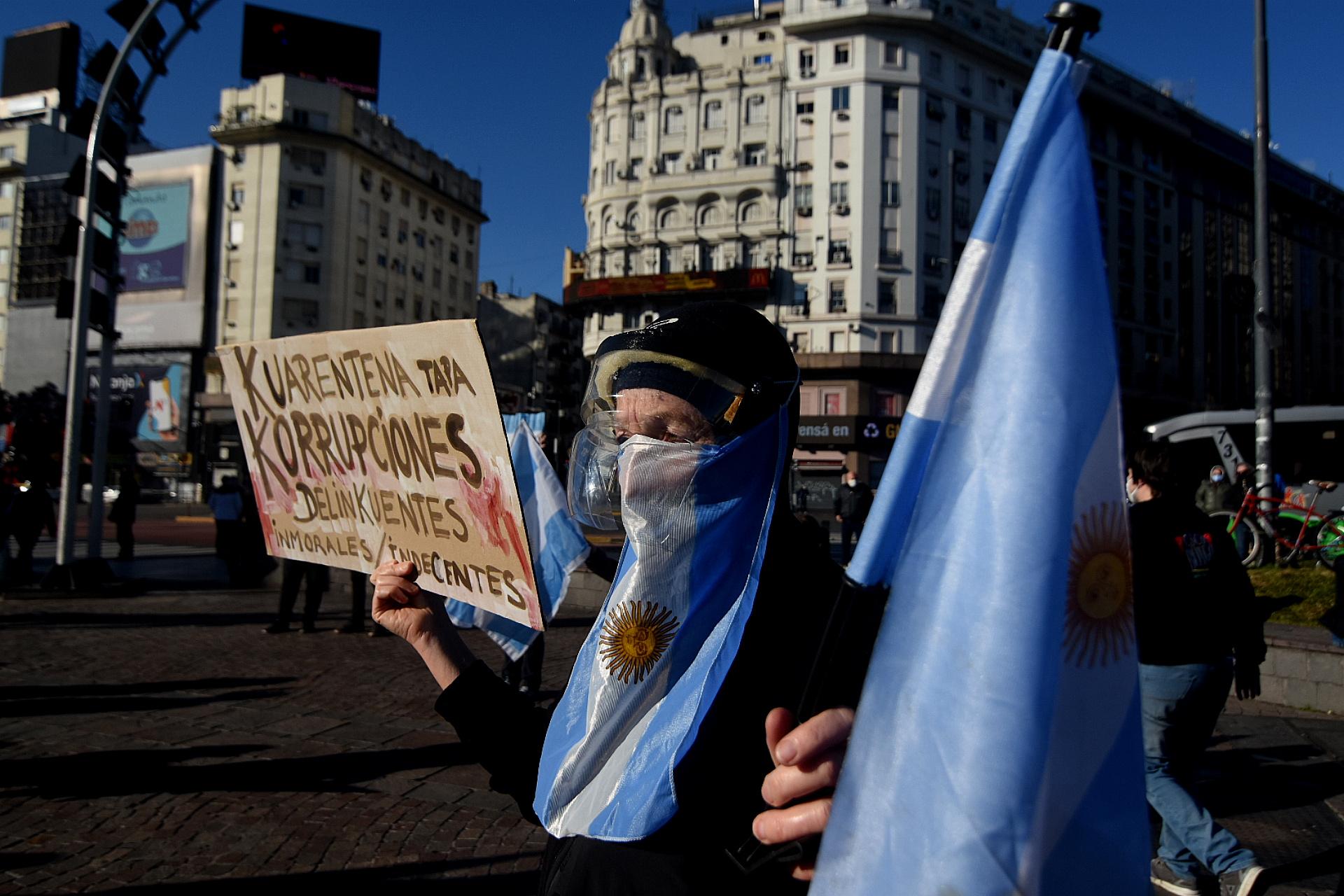 Los cuestionamientos al kirchnerismo se multiplicaron en todas las marchas que se realizaron en el país