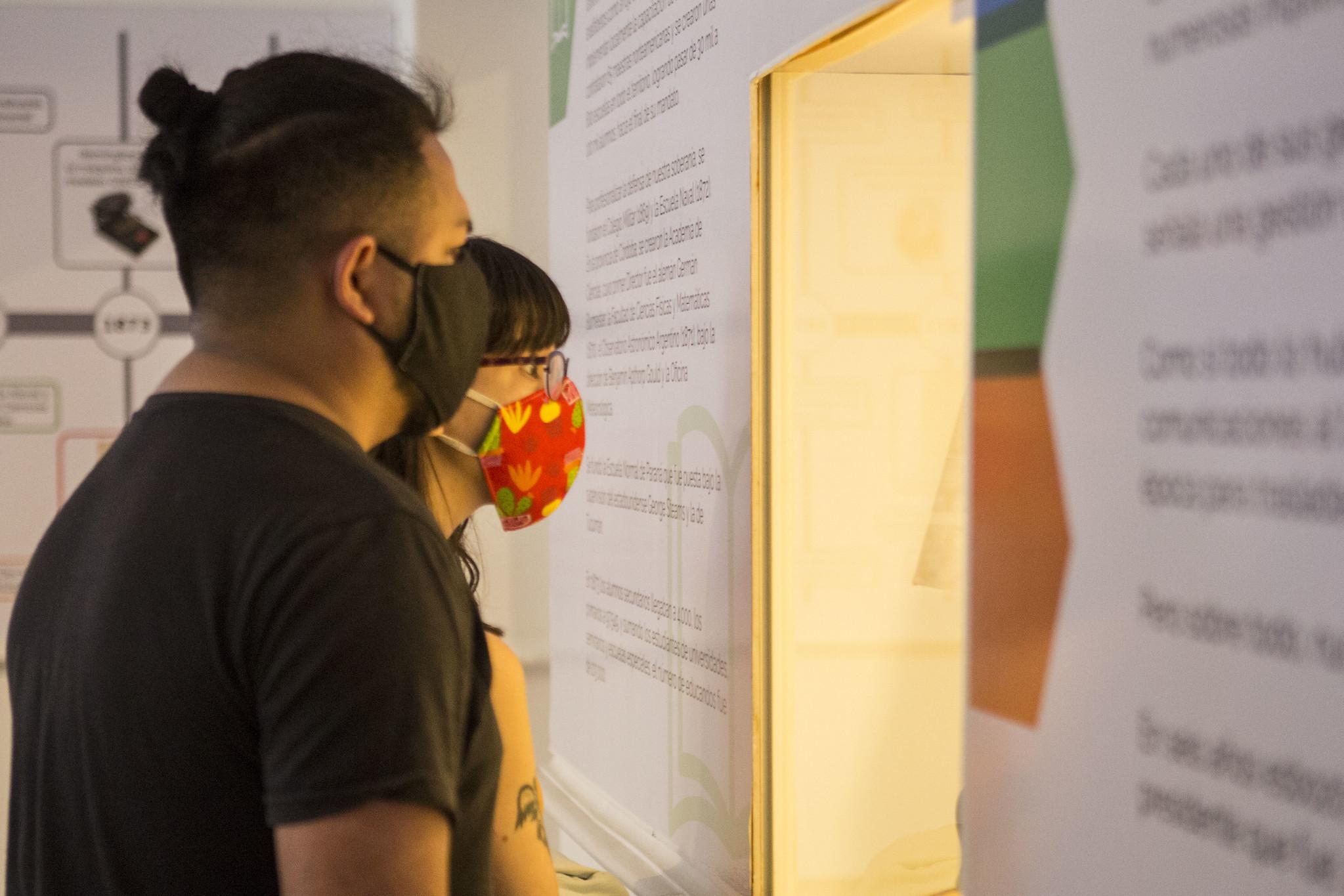 Los visitantes deben respetar el uso del tapaboca (Ministerio de Cultura)
