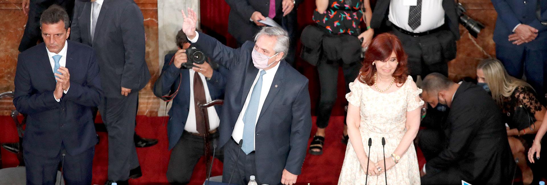 El discurso del presidente ante la Asamblea Legislativa terminó de desanimar a los inversores