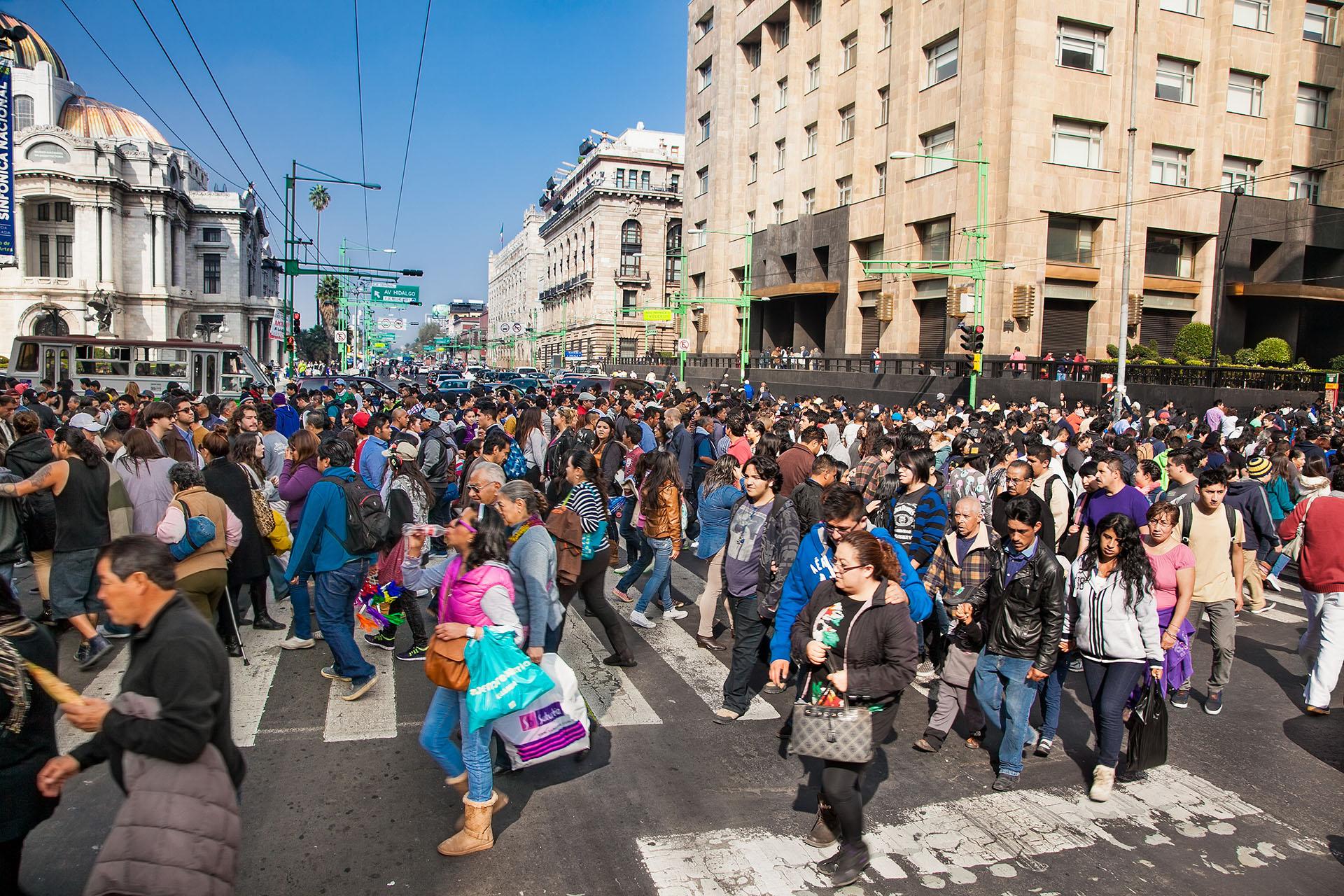 ANTES - La Ciudad de México es la décima más poblada del mundo (Shutterstock)