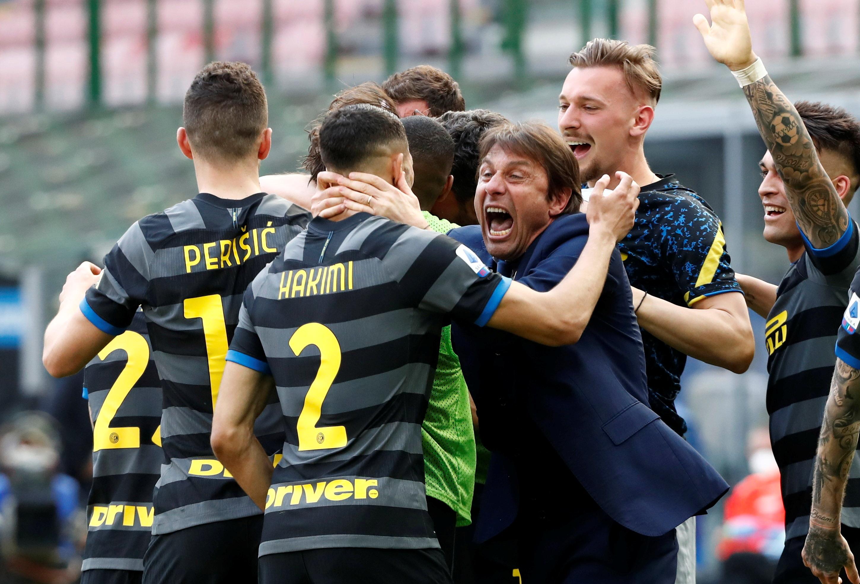 Fin de una era: el Inter se proclamó campeón después de los 9 Scudettos consecutivos de la Juventus - Infobae