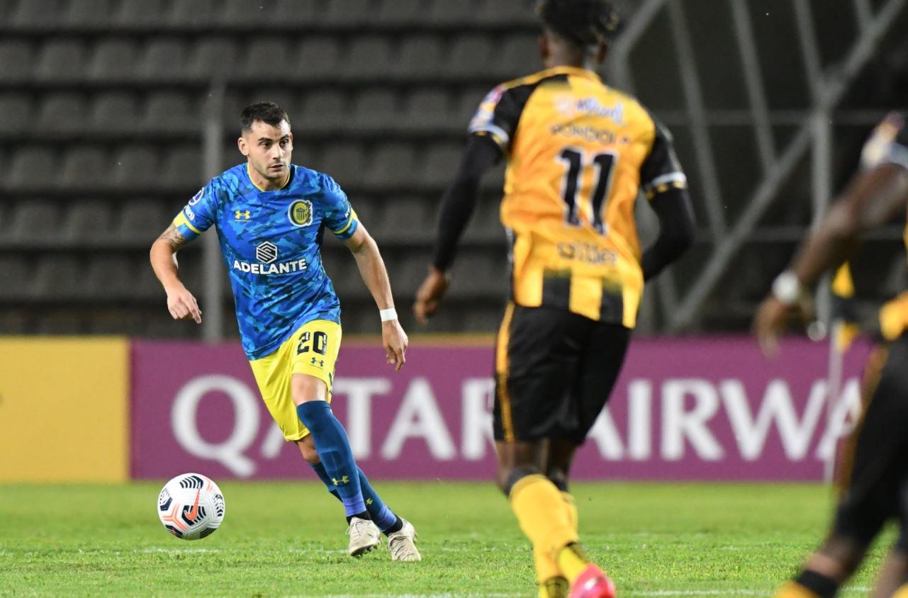 Rosario Central empató 2-2 con el Deportivo Táchira en Venezuela por la ida  de los octavos de final de la Copa Sudamericana - Infobae