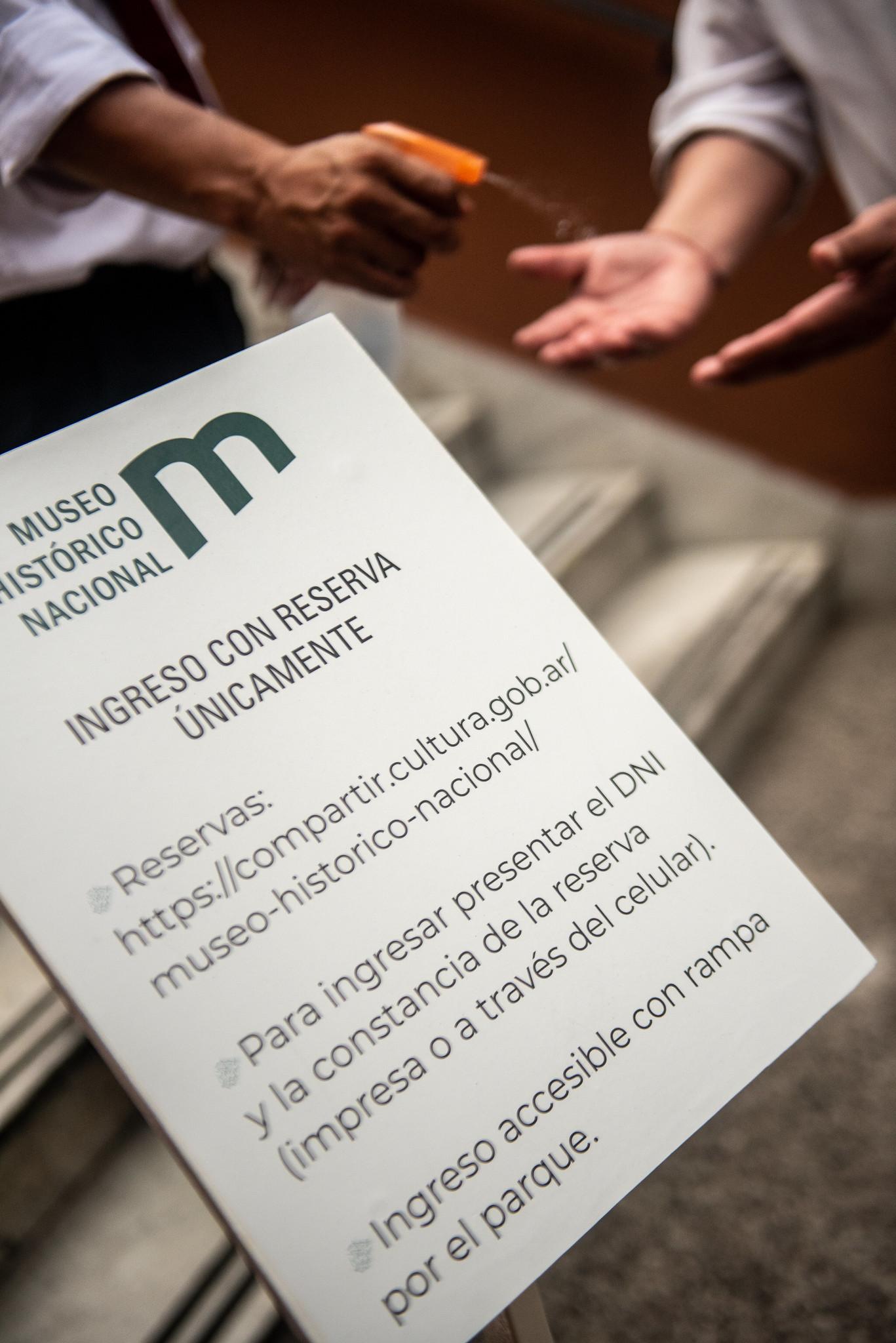 El ingreso solo está permitido para aquellas personas que hayan hecho la reserva previa (Ministerio de Cultura)