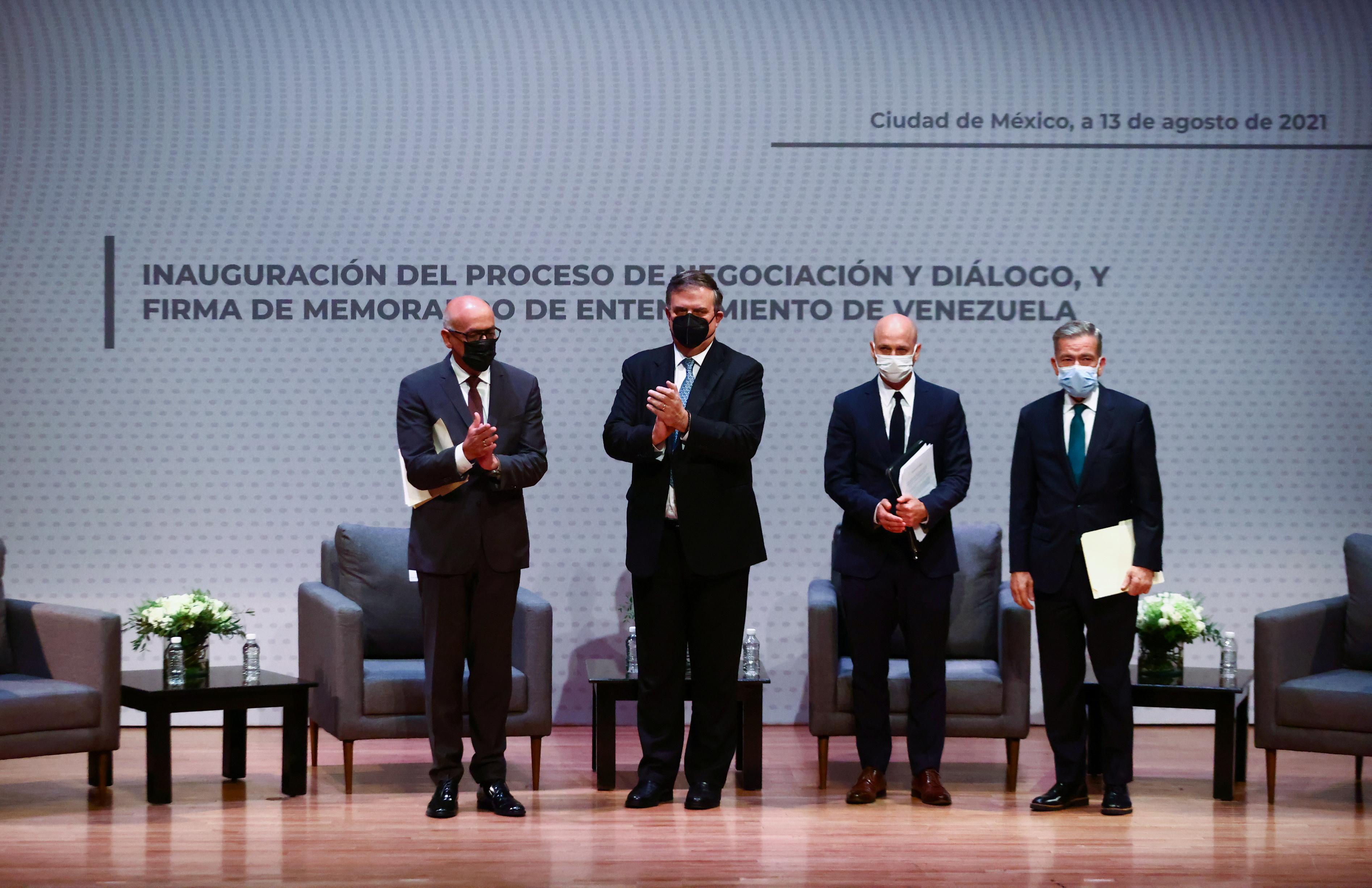 Venezuela: las reacciones de la oposición tras el comienzo del diálogo por  la paz en México - Infobae