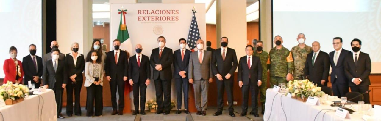 El gobierno mexicano sostuvo una reunión con el asesor de Seguridad Nacional de Joe Biden (Foto: Twitter / @ m_ebrard)
