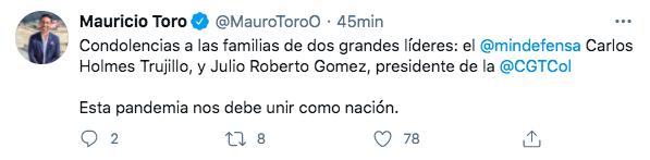 Trino de Mauricio Toro.