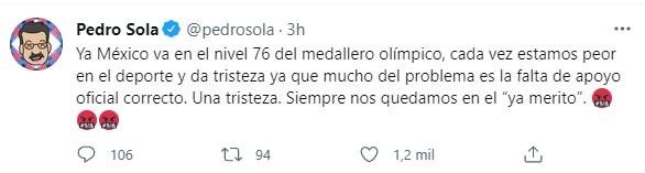 (Captura: @pedrosola/Twitter)