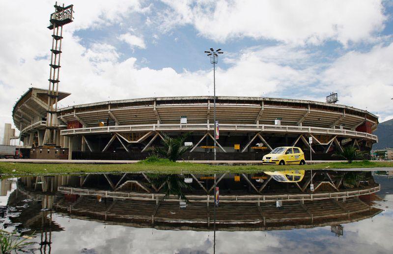 """PUESTO 10 - 115 PARTIDOS / Estadio Nemesio Camacho """"El Campín"""" de Bogotá, Colombia (REUTERS/Daniel Muñoz)"""