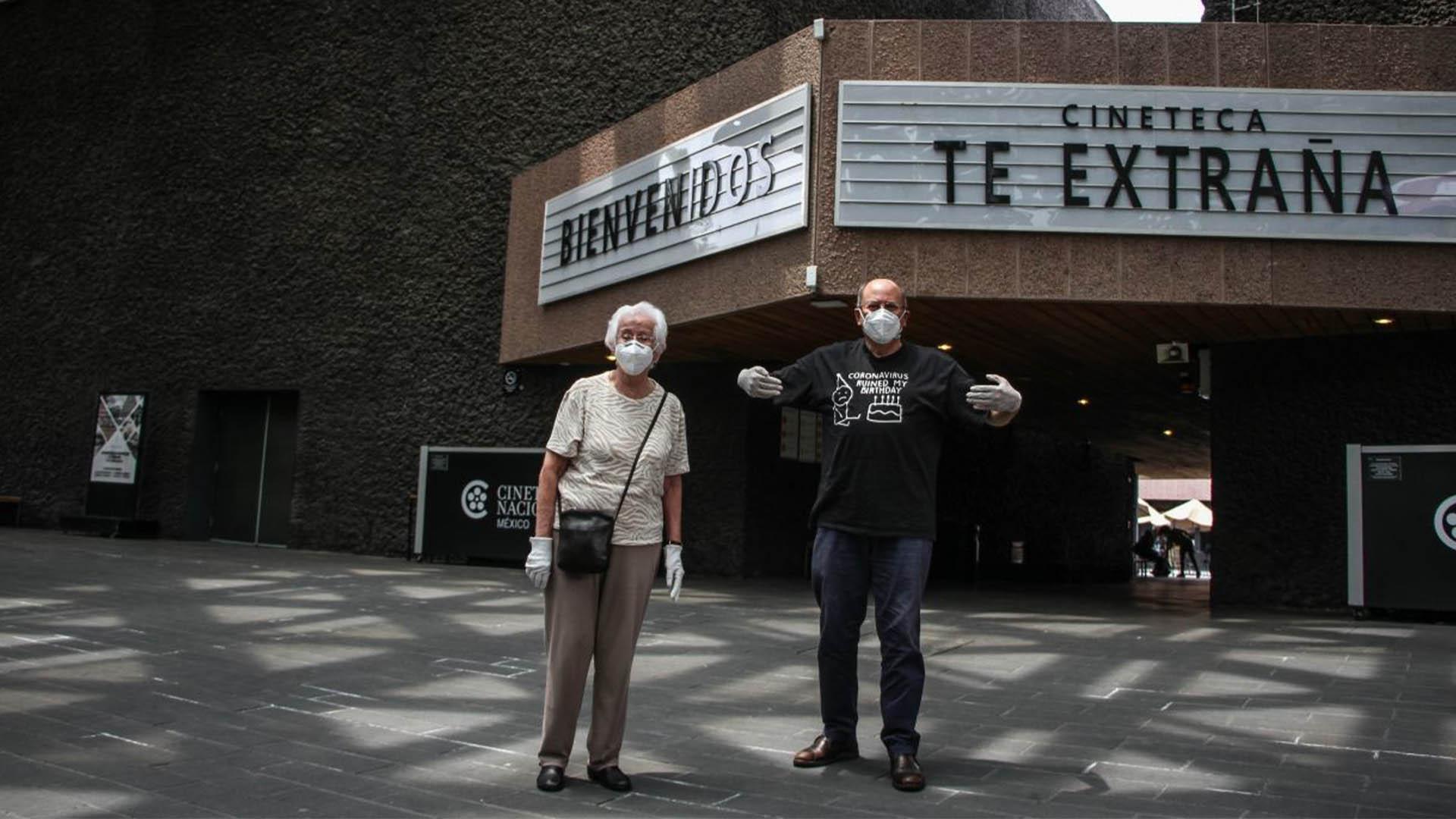 La Cinetaca Nacional, reanudo actividades la mañana de este miércoles (Foto: Cuartoscuro)
