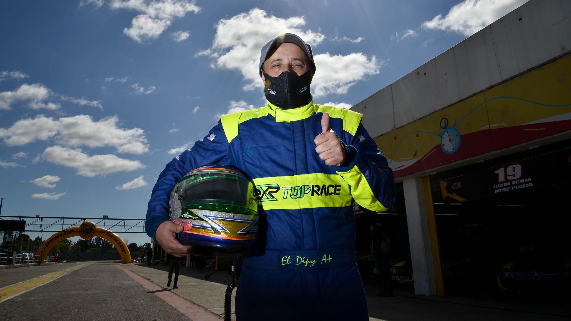 El Dipy debut en la categoría Top Race