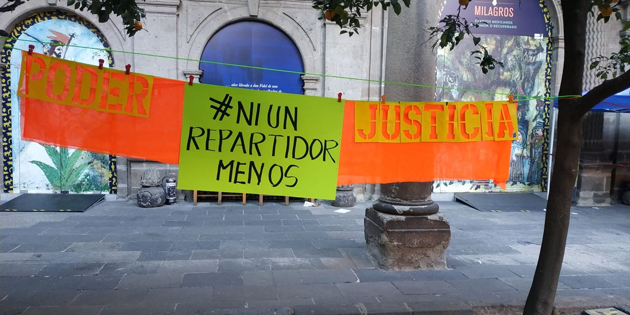 Niunrepartidormenos is a collective that brings together various distributors in the Mexican Republic and emerged in 2018 (Photo: Facebook Niunrepartidormenos)