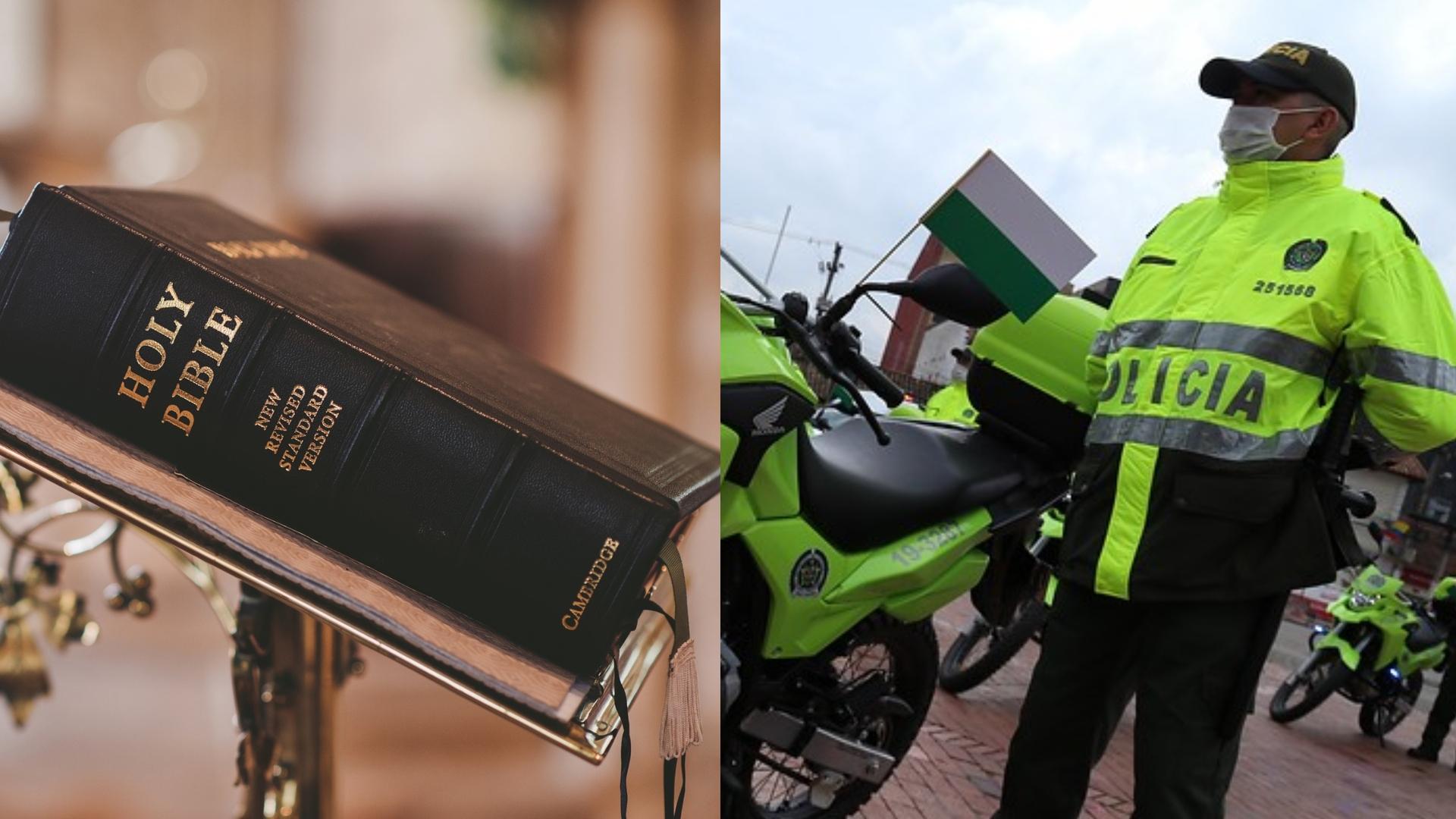 Policía comprará 720 biblias por 36 millones de pesos y aseguran que es una  tradición - Infobae
